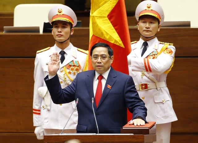 Quốc hội bầu xong 3 chức danh lãnh đạo chủ chốt nhiệm kỳ 2021 - 2026 - Ảnh 3.