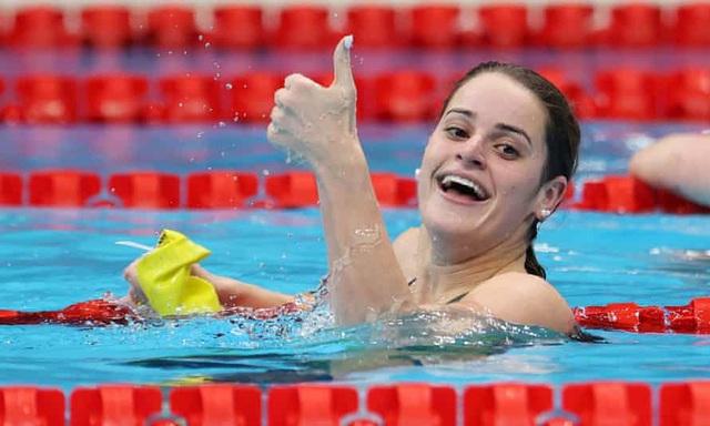 Olympic Tokyo 2020 sáng 27/7: Ấn tượng kình ngư 17 tuổi Lydia Jacobi - Ảnh 2.