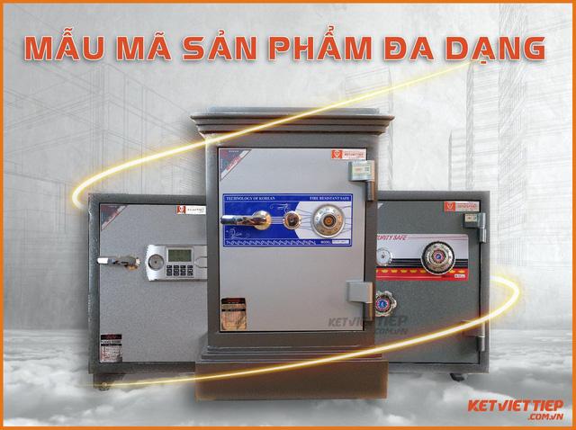 Két sắt Việt Tiệp – Thương hiệu két sắt đồng hành bảo vệ tài sản cho gia đình của bạn - Ảnh 3.