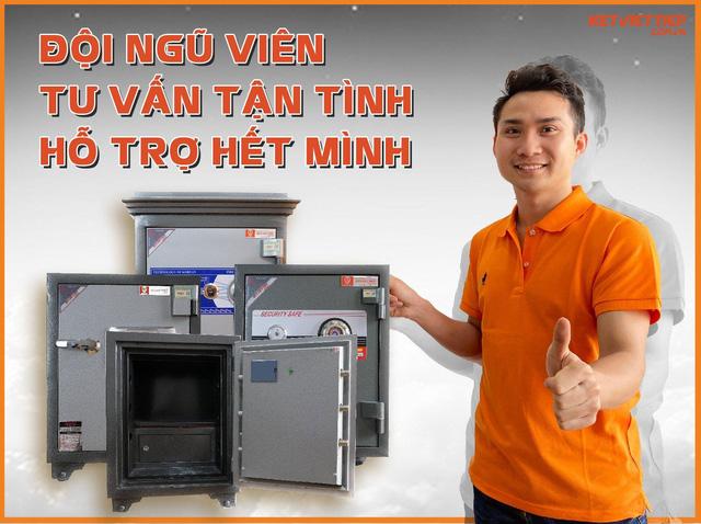 Két sắt Việt Tiệp – Thương hiệu két sắt đồng hành bảo vệ tài sản cho gia đình của bạn - Ảnh 2.