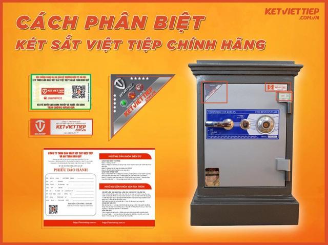 Két sắt Việt Tiệp – Thương hiệu két sắt đồng hành bảo vệ tài sản cho gia đình của bạn - Ảnh 4.