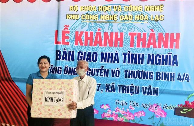 Bộ Khoa học và Công nghệ bàn giao nhà tình nghĩa tại Quảng Bình và Quảng Trị - Ảnh 4.