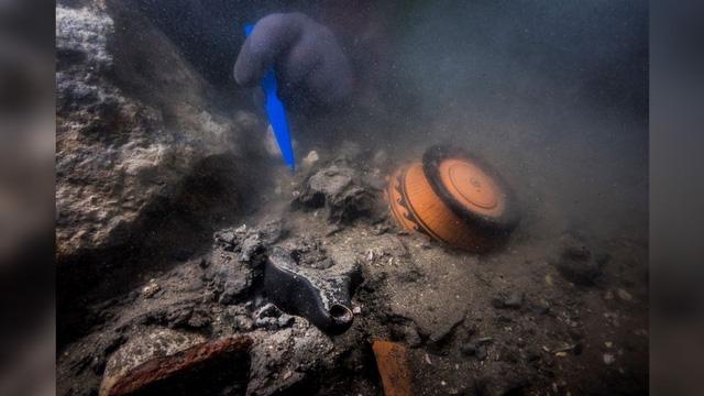 Tìm thấy xác tàu hơn 2000 năm tuổi ở thành phố chìm dưới đáy biển - ảnh 2
