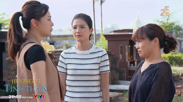 Hương vị tình thân phần 2 - Tập 1: Trở về sau 3 năm, Nam (Phương Oanh) không muốn gặp lại mẹ con bà Bích - Ảnh 1.