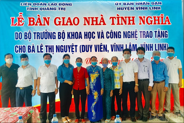 Bộ Khoa học và Công nghệ bàn giao nhà tình nghĩa tại Quảng Bình và Quảng Trị - Ảnh 3.