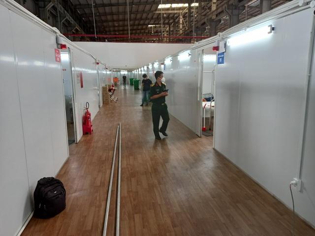 TP. Hồ Chí Minh: Bệnh viện Dã chiến số 16 quy mô gần 3.000 giường đi vào hoạt động - Ảnh 1.