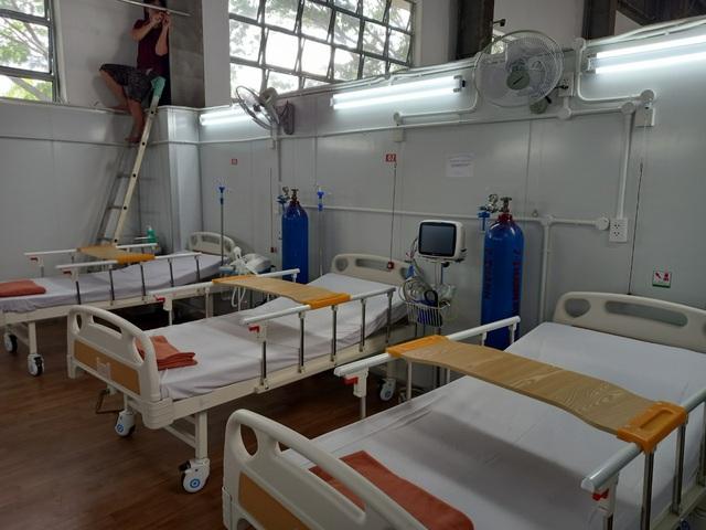 TP. Hồ Chí Minh: Bệnh viện Dã chiến số 16 quy mô gần 3.000 giường đi vào hoạt động - Ảnh 3.