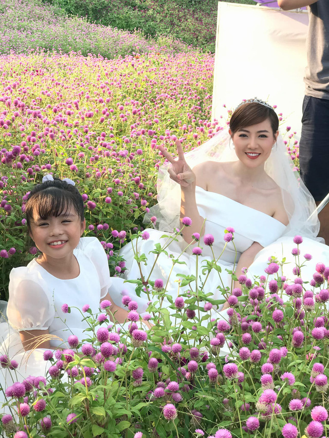 Mùa hoa tìm lại kết thúc, Thanh Hương tung ảnh đám cưới hạnh phúc của Lệ - Đồng - ảnh 2