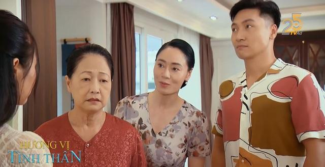 Hương vị tình thân phần 2 - Tập 2: Bà Dần (NSND Như Quỳnh) nhầm vợ sắp cưới của Long là Nam - Ảnh 2.