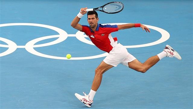Olympic Tokyo 2020   Quần vợt   Djokovic vào tứ kết, chạm trán Nishikori - Ảnh 1.
