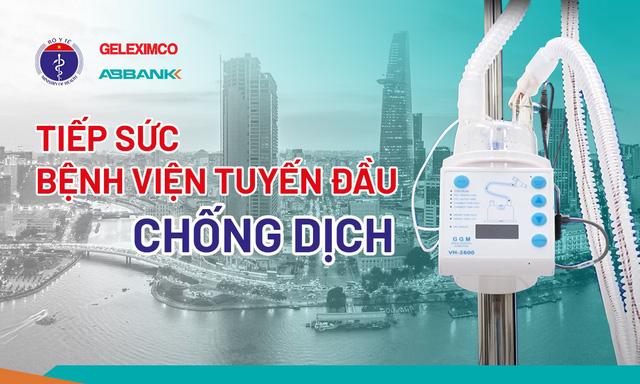 Tập đoàn GELEXIMCO và Ngân hàng TMCP An Bình tặng 500 máy thở oxy cho các BV tuyến đầu chống dịch - Ảnh 1.