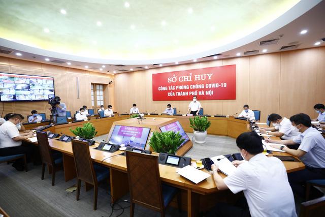Chủ tịch UBND TP Hà Nội: Địa bàn nguy cơ cao được áp dụng biện pháp mạnh hơn Chỉ thị 17 - Ảnh 2.