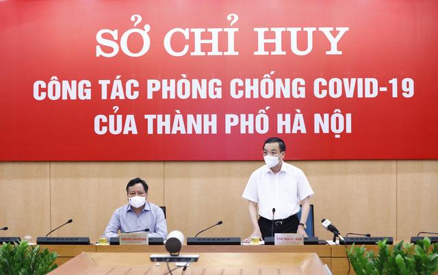 Chủ tịch UBND TP Hà Nội: Địa bàn nguy cơ cao được áp dụng biện pháp mạnh hơn Chỉ thị 17 - Ảnh 1.