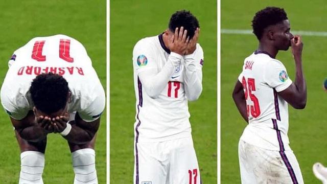 3 cầu thủ Portsmouth bị sa thải vì lăng nhục Rashford, Saka và Sancho - Ảnh 1.