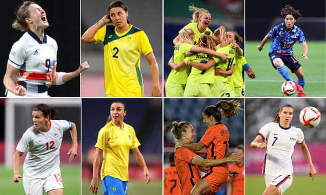 Lịch thi đấu tứ kết bóng đá nữ Olympic Tokyo 2020: Nữ Brazil vs Canada, Nhật Bản vs Thuỵ Điển - Ảnh 2.