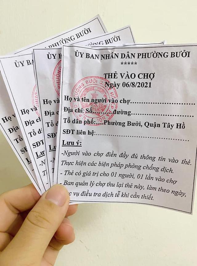 Áp dụng phiếu đi chợ ở Hà Nội: Người mua, người bán cần lưu ý gì? - Ảnh 1.