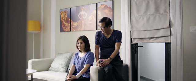 Hãy nói lời yêu - Tập 32: Ông Tín trở về bên bà Hoài, Phan nhận ra không thể từ bỏ tình cảm với My - ảnh 30