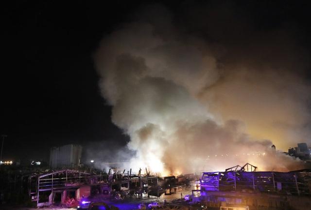 Một năm sau thảm họa ở cảng Beirut, những vết thương để lại vẫn chưa lành - Ảnh 3.