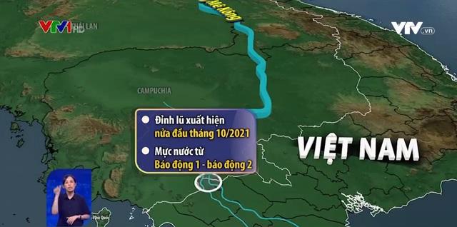 Lũ sông Cửu Long chính vụ năm nay tiếp tục thấp - Ảnh 1.