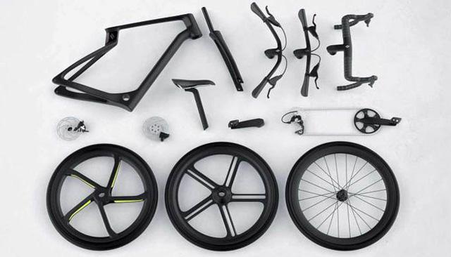 Xe đạp in 3D từ sợi carbon - ảnh 2