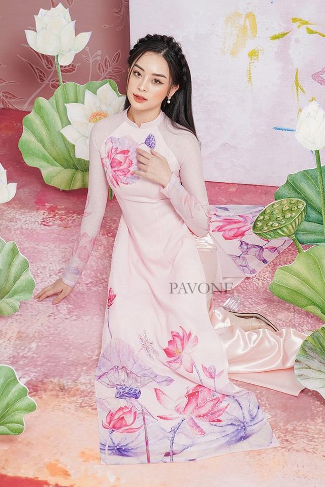 Top những mẫu áo dài Pavone được lựa chọn nhiều nhất hiện nay - Ảnh 5.