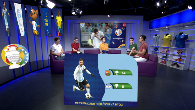 Chung kết Copa America: Brazil hay Argentina lên ngôi vương? (7h, Chủ nhật, 11/07, VTVcab) - ảnh 3