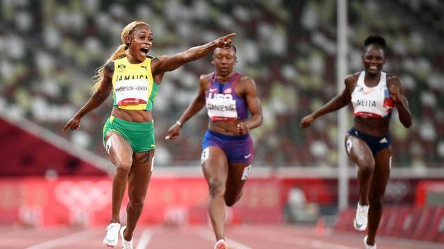 Jamaica độc chiếm huy chương tại nội dung 100m nữ - Ảnh 2.