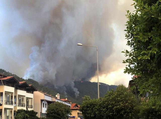 Cháy rừng tại Thổ Nhĩ Kỳ lan rộng, số nạn nhân thiệt mạng tăng lên 6 người - Ảnh 7.