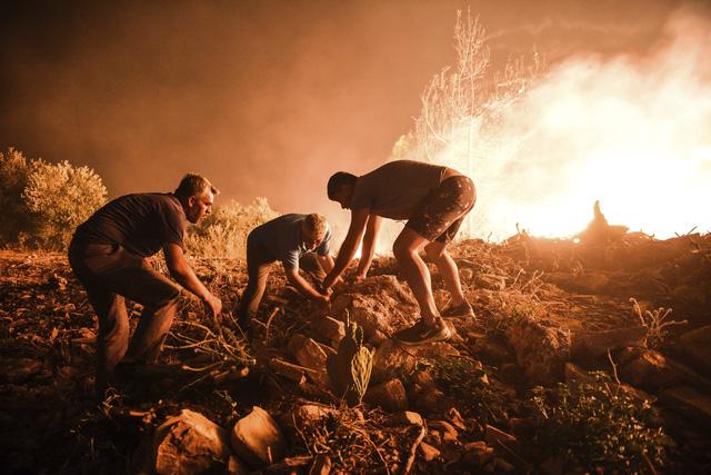 Cháy rừng tại Thổ Nhĩ Kỳ lan rộng, số nạn nhân thiệt mạng tăng lên 6 người - Ảnh 4.