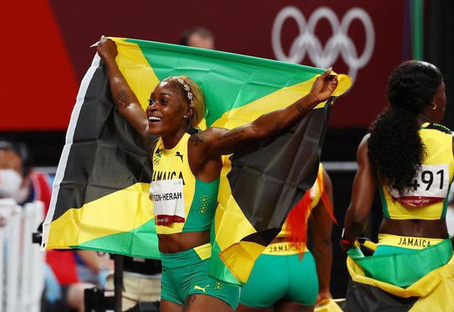 Jamaica độc chiếm huy chương tại nội dung 100m nữ - Ảnh 4.