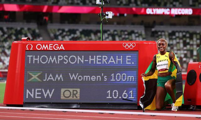 Jamaica độc chiếm huy chương tại nội dung 100m nữ - Ảnh 3.