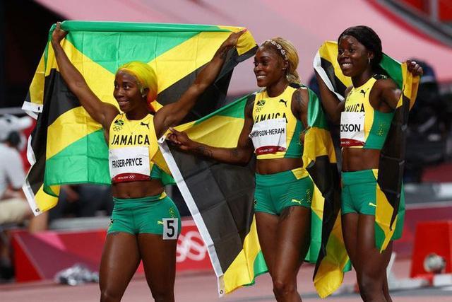 Jamaica độc chiếm huy chương tại nội dung 100m nữ - Ảnh 5.