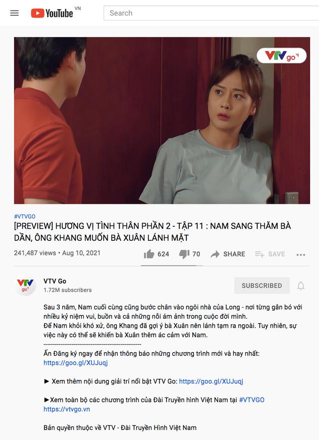 Trọn bộ Hương vị tình thân phần 2 trên kênh YouTube VTVGo - ảnh 1
