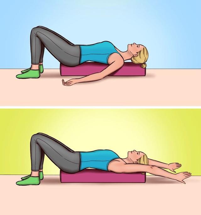 7 bài tập cải thiện tư thế và giảm đau lưng