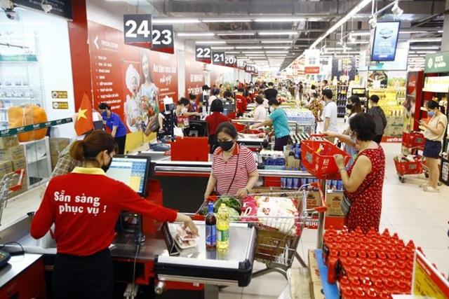 Tạm dừng hoạt động hoặc đóng cửa một số siêu thị và cửa hàng VinMart, VinMart+ có liên quan dịch tễ đến các F0 - Ảnh 1.