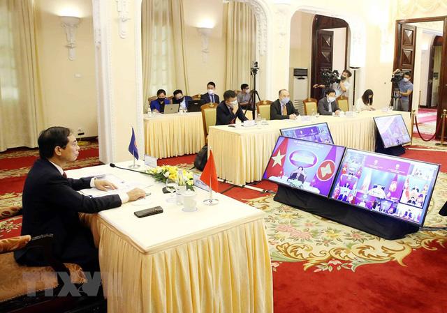 Ngày 2/8, khai mạc Hội nghị Bộ trưởng Ngoại giao ASEAN lần thứ 54 - Ảnh 1.