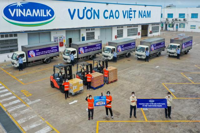 Vinamilk triển khai chương trình hỗ trợ quà tặng để trợ giá mùa dịch lên đến gần 170 tỷ đồng - Ảnh 4.