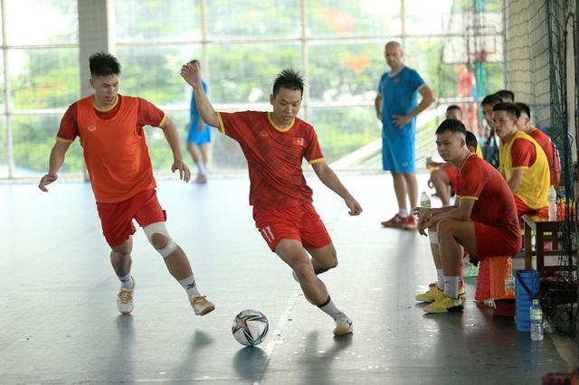 ĐT futsal Việt Nam chốt danh sách lên đường sang Tây Ban Nha tập huấn