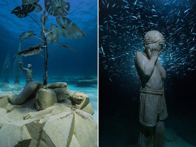 Độc đáo triển lãm nghệ thuật dưới nước tại đảo Cyprus - ảnh 5