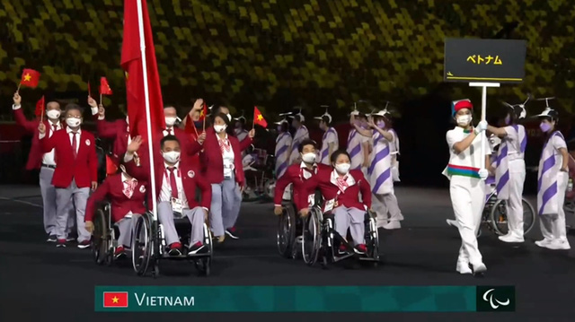Khai mạc Paralympic Tokyo 2020 - Ảnh 1.