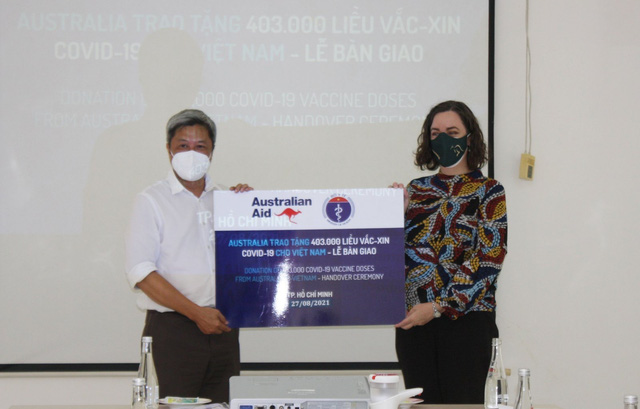 Australia sẽ sớm giao 1,1 triệu liều vaccine ngừa COVID-19 cho Việt Nam - Ảnh 2.