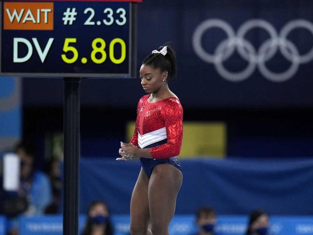 Simone Biles sẽ tham dự nội dung thi cầu thăng bằng - Ảnh 1.