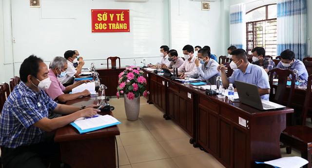 Tổ công tác của Bộ Y tế hỗ trợ Sóc Trăng công tác phòng, chống dịch COVID-19 - Ảnh 1.