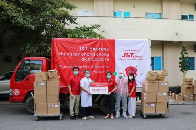 J&T Express gây quỹ hỗ trợ người lao động mùa dịch - Ảnh 3.