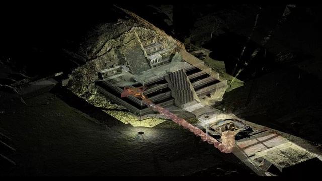 Phát hiện bó hoa hơn 2.000 tuổi dưới kim tự tháp Teotihuacan