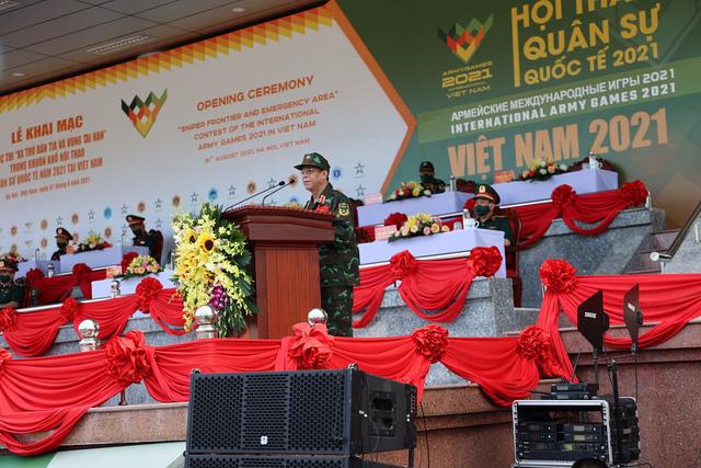 Army Games 2021 tại Việt Nam khai mạc, bắt đầu thi đấu Xạ thủ bắn tỉa - Ảnh 1.