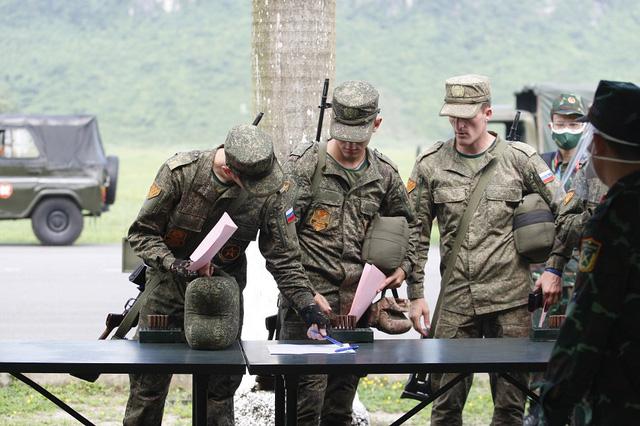 Army Games 2021 tại Việt Nam khai mạc, bắt đầu thi đấu Xạ thủ bắn tỉa - Ảnh 5.