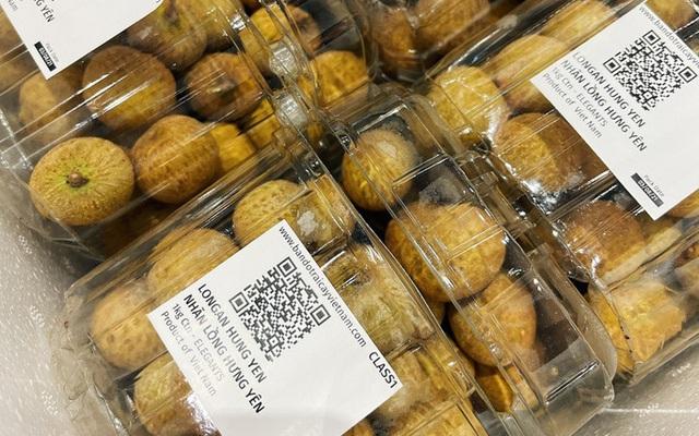Nhãn lồng Hưng Yên bán ở Singapore giá hơn 200.000 đồng/kg - Ảnh 1.