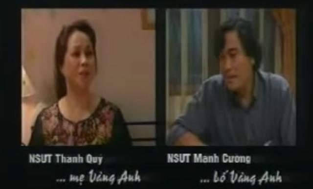 Sự hoán đổi không ngờ từ con gái thành bạn gái của Minh Hương với NSND Mạnh Cường trong 2 phim - Ảnh 2.