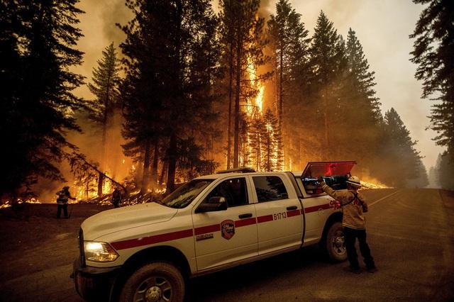 Cháy rừng lan nhanh ở California, hàng nghìn người phải sơ tán - Ảnh 7.
